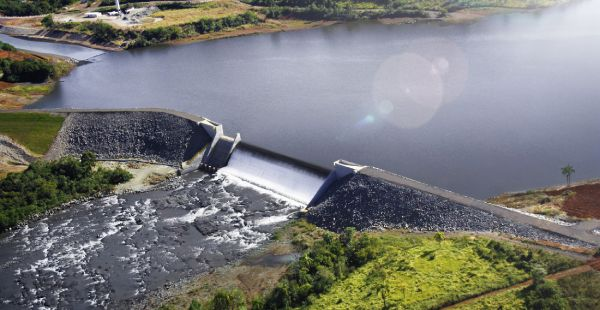Governo propõe liberar 19 centrais de geração de energia - Foto a usina de Cavernoso no Paraná