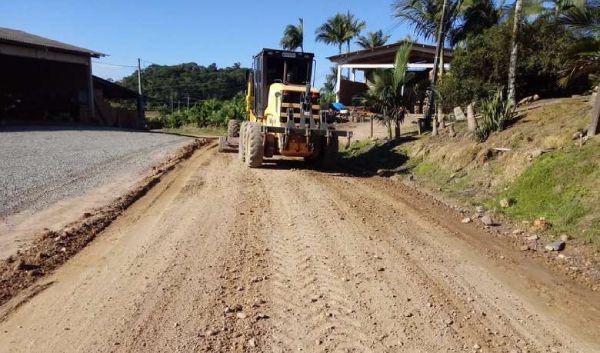 Construção de pavimento de concreto