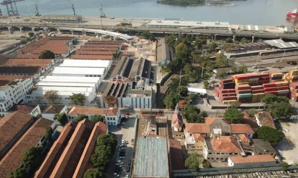 ponte rio niterói em construção