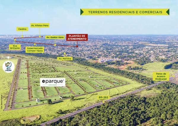 Setor imobiliário de Mato grosso do sul - imagens para release eparque rgb fotomontagem