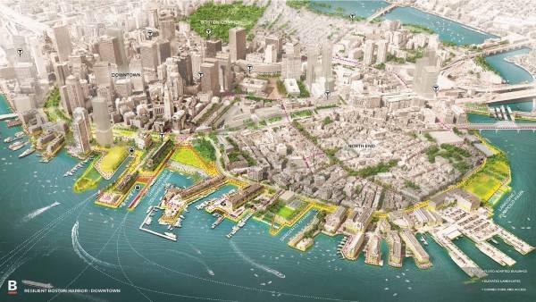 Boston - projeto de renovação urbana