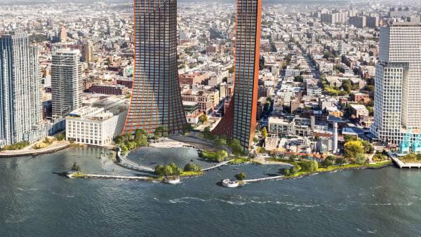 Brooklyn - BIG e a Field Operations desenvolveram em conjunto o projeto