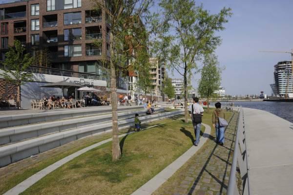 Hamburgo - HafenCity é um empreendimento de reurbanização