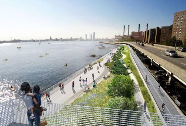 Nova Iorque - US$ 10 bilhões para o desenvolvimento de projetos destinados a encontrar soluções para as previsíveis inundações da parte baixa de Manhattan