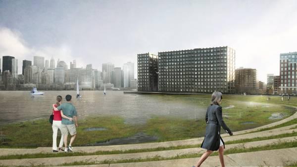 Hoboken - projeto de reurbanização resiliente