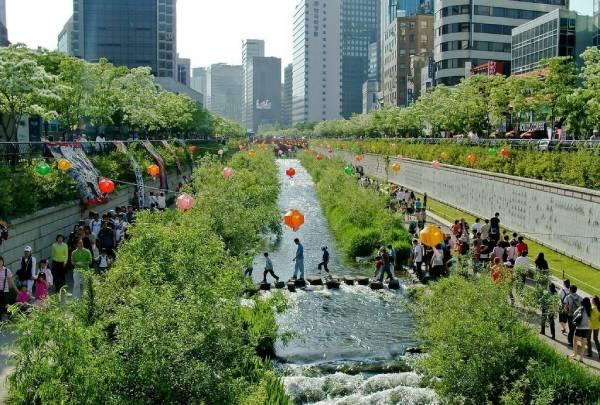 Seul - desenvolveu um projeto que pretende facilitar e até promover a absorção do excesso de água