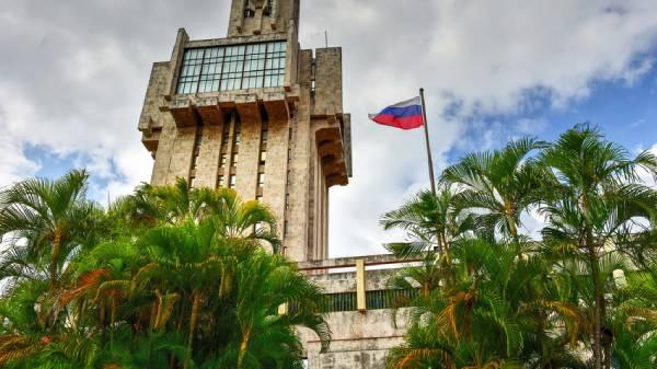 Embaixada da Rússia, em Havana