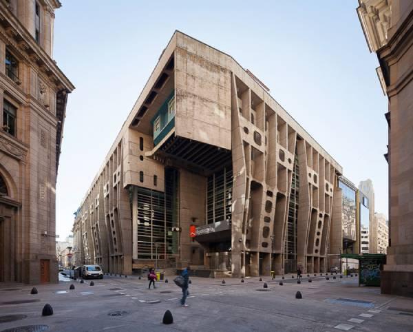 Prédio do banco de Londres y América del Sur, em Buenos Aires