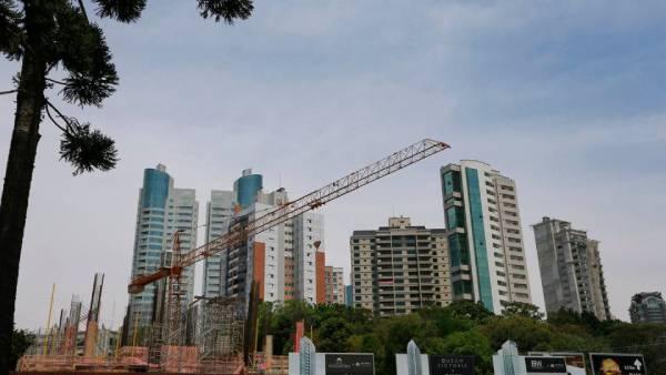 imagem de obras - prédios