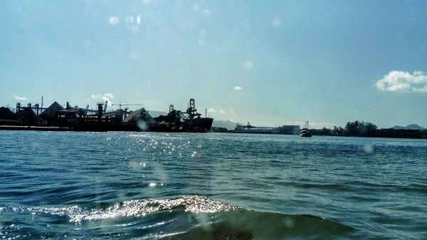 Ponte Ecovias - Mar Cais das letras