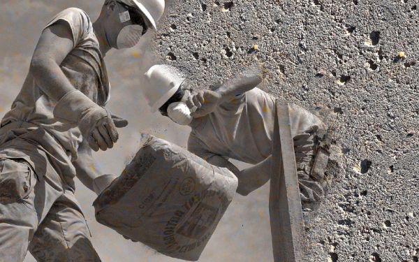 Placa de cimento