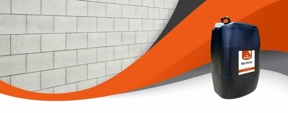 ATRAI BLOCK - Atrai Aditivos para concreto, cimento e argamassa