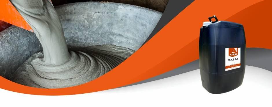 ATRAI MASSA - Atrai Aditivos para concreto, cimento e argamassa